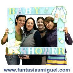 MARCO DECORADO BABY SHOWER