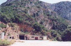 Gutturu Pala. L'ingresso principale alla miniera- Fluminimaggiore