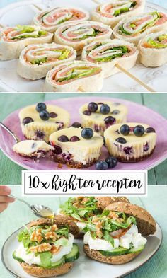 10 x high tea x high tea recepten – Leuke recepten… 10 x High Tea Rezepte, Healthy Recipes, Snack Recipes, High Tea Recipes, High Tea Sandwiches, Finger Sandwiches, High Tea Food, Tea Snacks, Cheesecake, Salsa