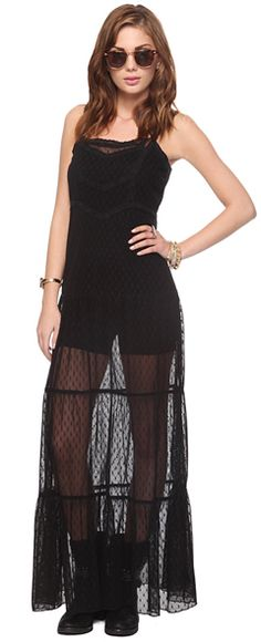 I am not sure if this would look good on me or not but I definitely am digging the uniqueness of this piece.