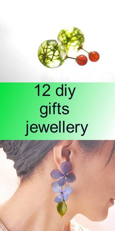 12 diy gifts jewellery Jewelry Gifts, Jewellery, Diy Tutorial, Diy Gifts, Drop Earrings, Jewelery, Jewlery, Hand Made Gifts, Handmade Gifts