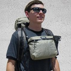 one of my favorite pieces  #Backpacking ZPacks.com Ultralight Backpacking Gear - Multi-Pack 3 in 1 Lid, Chest Pack, Belt Pack