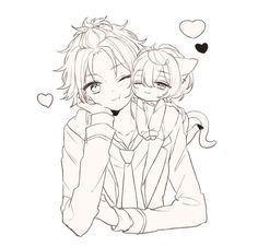 Drawing Anime Bodies, Rainbow Light, Hunter Anime, Ensemble Stars, Diabolik Lovers, Anime Sketch, People Art, Colorful Pictures, Game Character