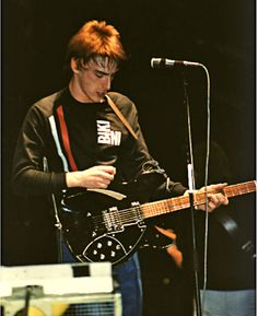 Guitar hero: Weller rocks out on stage, 1981