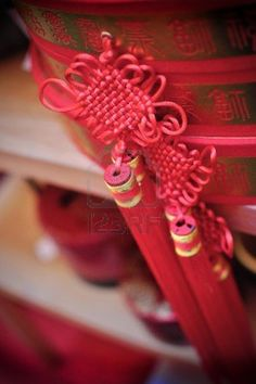 mystic knot chinese new year decoration