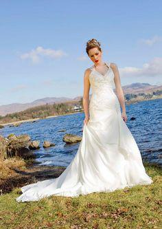 Bride by the sea in a wedding dress from Ashford Bridal Traditional Wedding Dresses, One Shoulder Wedding Dress, Sea, Bride, Fashion, Wedding Bride, Moda, Bridal, Fashion Styles