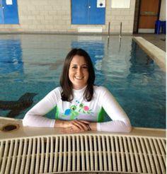 Karina Reinhardt holds Baby Swimming Classes in Edinburgh, Scotland