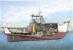 Ships, Paintings, Boats