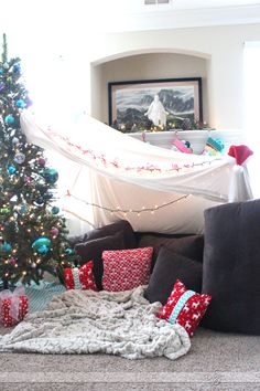 Christmas Campout- how to make fun holiday memories as a family