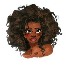 Tiana Concept art from Disney's Princess and the Frog.