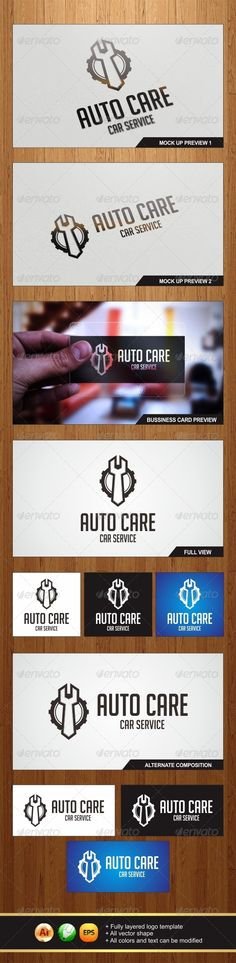Auto Care Logo - Graphicriver