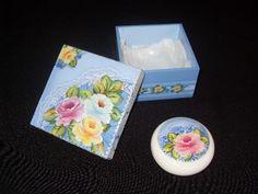 Caixa Rosas com sabonete