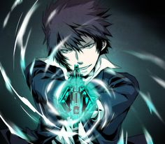 Shinya Kougami from Psycho pass.. the best Inspector, hahaha <3