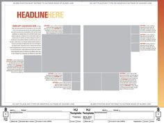 Yearbook Page Layout