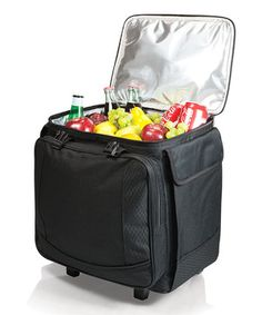 This Black Bodega Wheeled Cooler by Picnic Time is perfect! #zulilyfinds