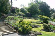 Terrace Gardens Richmond Surrey, Richmond Upon Thames, Terrace Garden, Garden Bridge, Pretty Pictures, Vineyard, Gardens, Outdoor Structures, In This Moment