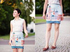 London pencil skirt