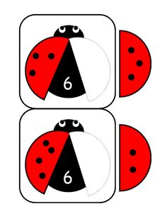 ladybugs math activities printables - The best crafts The best crafts Numbers Kindergarten, Kindergarten Math Activities, Math Numbers, Kindergarten Worksheets, Math Games, Preschool Activities, Counting Activities For Preschoolers, Math For Kids, Prints