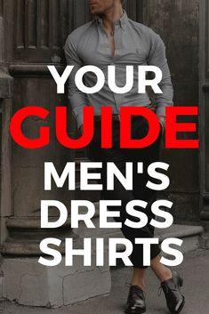 Mens dress shirt guide