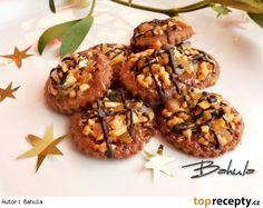 Florentýnky Christmas Baking, Christmas Cookies, Czech Recipes, Ethnic Recipes, Crinkles, Baked Goods, Baking Recipes, Almond, Stuffed Mushrooms
