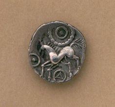 Silver Celtic Iceni unit Britain, 1st century A.D.