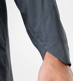 A perfect detail. From the arc'teryx Veilance collection for Spring 2014—the Apsis Windshell Men's Coat.