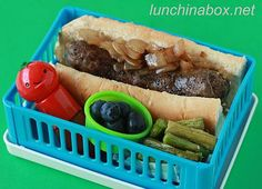 sausage bento lunch