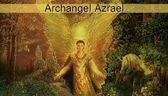 "Archangel Azrael is known as the angel of death. The meaning of his name is ""The Helper of God"". The angel of death, Azrael is the helper of those who die Archangel Sandalphon, Archangel Jophiel, Angel Guidance, Ange Demon, Fantasy Castle, Angel Cards, Archangel Michael, Angel Of Death, Angels And Demons"