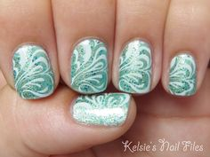 Kelsie's Nail Files: Summer Fun Challenge! Day 6: The Big Blue