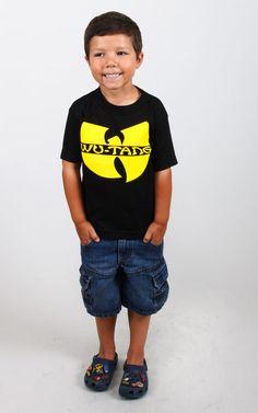 Clan Logo toddler t-shirt by Wu Tang Clan at MOOSE Limited