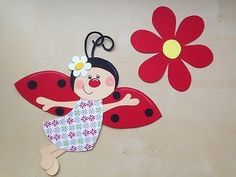"Spring / Summer Decoration (Window Picture) ""Ladybird & Flower"" Source by olgrozou Fun Crafts, Crafts For Kids, Arts And Crafts, School Frame, Creative Activities For Kids, Kids Poems, Paper Flowers Craft, Kitchen Decor Themes, Flower Hats"