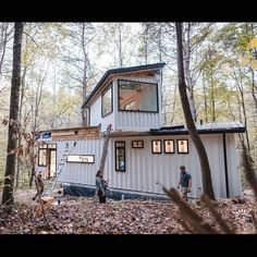 Building A Shipping Container Home Converted Shipping Containers, Container Homes For Sale, Shipping Container Home Designs, Cargo Container Homes, Building A Container Home, Shipping Container House Plans, Container Buildings, Storage Container Homes, Container Architecture