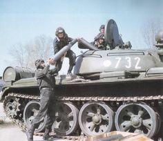 East German Tank Crew