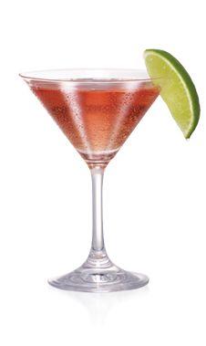 Lady Liquorice (2 parts Pinnacle Red Liquorice Vodka 1 part DeKuyper Triple Sec Liqueur 1 part Cranberry Juice)