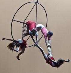 circus eloize.  via: luxaurumque