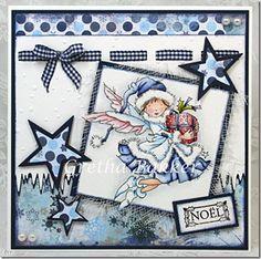 Het kaartenhoekje van Gretha: Lili of the Valley `Christmas Gift` 3d Cards, Cute Cards, Christmas Cards, Christmas Ideas, Christmas Fairy, Christmas Angels, Winter Fairy, Card Making Tips, Marianne Design
