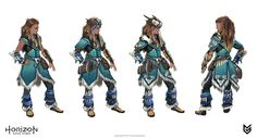 - https://www.artstation.com/artwork/L9mDlArtStation - Horizon: Zero Dawn - Aloy costumes concept art, Ilya Golitsyn