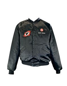 This nylon jacket belonged to Cesar Chavez, a civil rights, Latino and farm labor leader who in 1962 founded the United Farm Workers (UFW) union, the first effective union of farm workers in the United States. As founder and president of the UFW, Chavez brought to light the plight of farm laborers through community organizing, marches, boycotts and fasts.A migrant worker during his childhood, Chavez pledged his life to improving the stark conditions of farm labor. Inspired by Mahatma Gandhi…