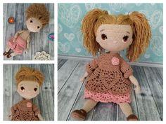 Amigurumi Doll Free Pattern —Amigurumi doll crochet free pattern Free Crochet, Crochet Hats, Amigurumi Doll, Free Pattern, Crochet Patterns, Teddy Bear, Dolls, Crochet Granny, Puppet