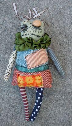 zombie doll, very tim burton'ish