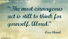 #courage #quotes #chanel