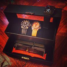 Apple Watch,  Apple Watch bands, straps , Seiko Monster, Seiko Orange Monster