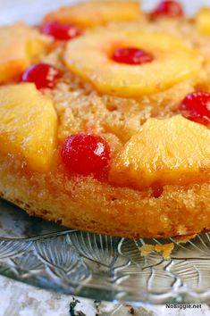 fresh pineapple upside down cake recipe - NoBiggie.net