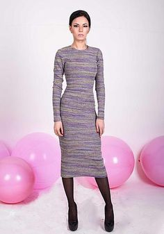 Длинное платье карандаш от NATALIA KRAVCHENKO