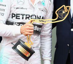 Monaco F1 Winners Trophy 2014