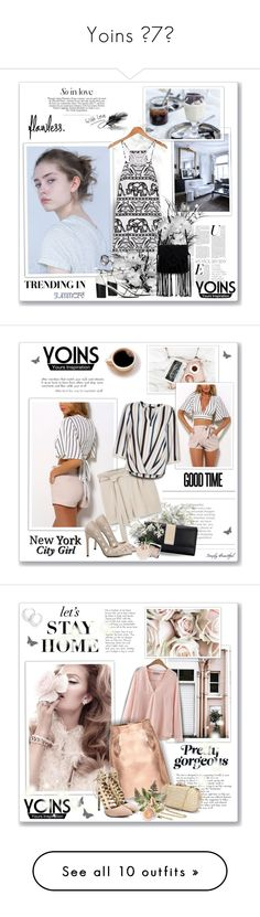 """Yoins ¤7¤"" by sneky ❤ liked on Polyvore featuring yoins, yoinscollection, loveyoins, Allstate Floral, MANGO, New Look, Hourglass Cosmetics, Valentino, Prada and Chanel"