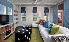 Coastal Comfy Kids Lounge - Coastal - Kids - Photos by Masterpiece Interiors, Inc. | Wayfair