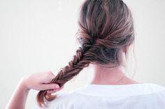 How-to: Fishtail Braid (w/ pics)