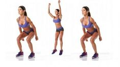 Squat Jump or Jump Squat. See video demo here