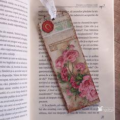 DIY - semn de carte prin tehnica decoupage - Haidihai Floral Tie, Decoupage, Handmade, Diy, Hand Made, Bricolage, Do It Yourself, Homemade, Diys